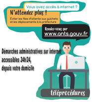 Démarches administratives sur internet accessibles 24H/24