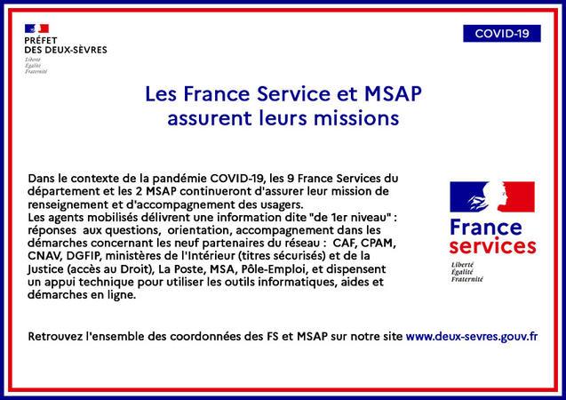 france service MSAP